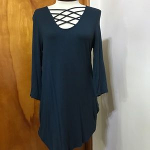 Maurices strappy tunic shirt
